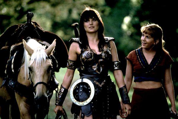 Xena y Gabrielle, personajes icónicos