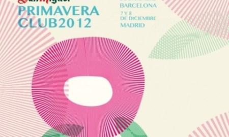 Cartel de la presente edición del Primavera Club