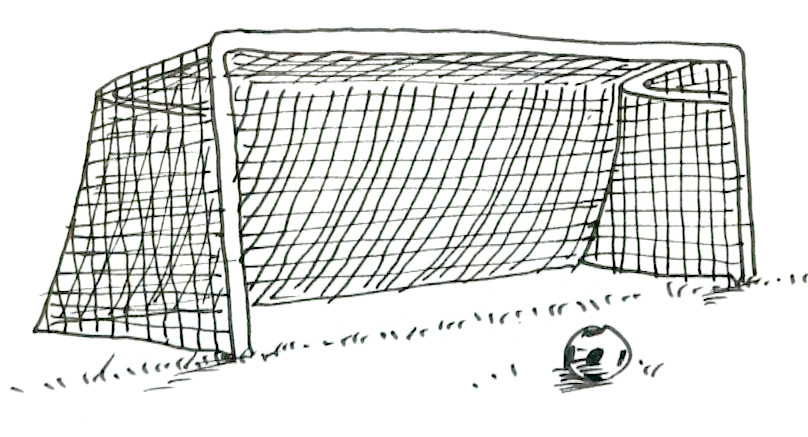 How To Draw Goal Posts Shoo Rayner Author