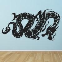 Oriental Flying Dragon Fantasy Chinese Dragon Wall ...