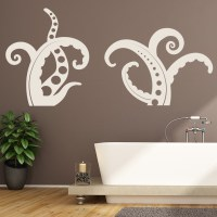 Octopus Tentacles Animals Under The Sea Wall Stickers