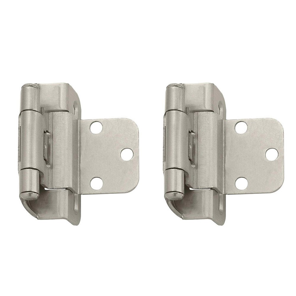 decorative cabinet hinges kitchen cabinet hardware hinges Amerock Cabinet Hinges Self Closing Partial Wrap 3 8