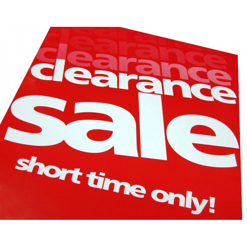 Sale Posters - 4 pack - sale signs