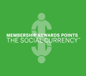 American Express Membership Rewards Social Currency