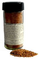 Brisket of Love BBQ Seasoning Rub - Stocking Stuffers for Men - FantabulouslyFrugal.com 2012 Holiday Gift Guide - #giftguide #stockingstuffers