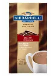 Ghirardelli Hot Chocolate - Stocking Stuffers for Women - FantabulouslyFrugal.com 2012 Holiday Gift Guide - #giftguide #stockingstuffers