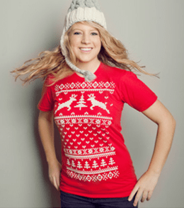 Ugly Sweater Tee - Gifts for Teen Girls