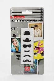 Mustache Photo Magnets
