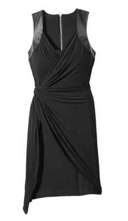 labworks twist front dress