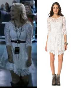 Scarlett from Nashville White Lace Dress