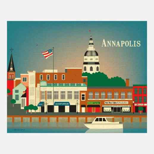 Annapolis Print from Loose Petals