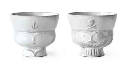 Jonathan Adler Sailor Pirate Bowl