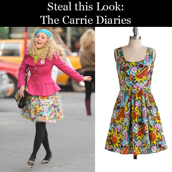 Steal this Look: The Carrie Diaries Dress from ModCloth