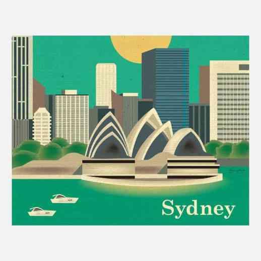 Sydney Print by Loose Petals