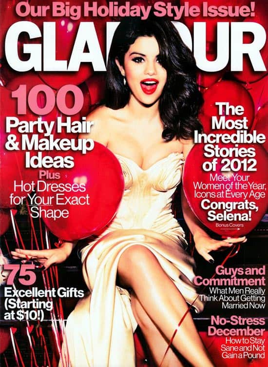 Glamour - Selena Gomez Cover