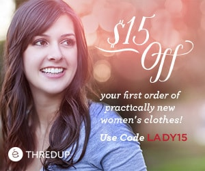 ThredUp Women - Free $15 shopping credit
