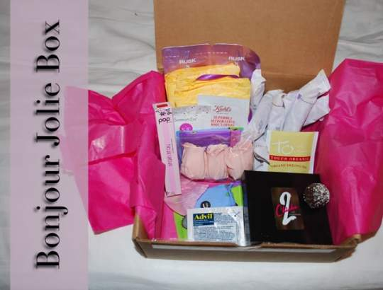 Bonjour Jolie: A Period Subscription Box
