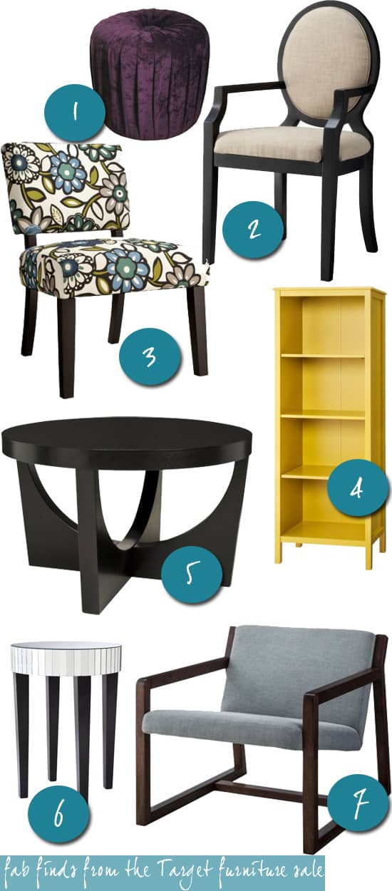 Fab Finds from the Target furniture sale
