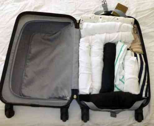 Packing for a week in a carry-on suitcase