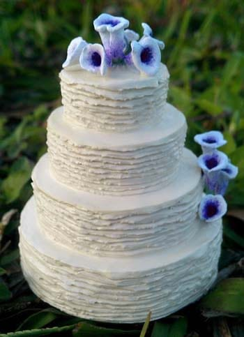 Miniature Wedding Cake Replica