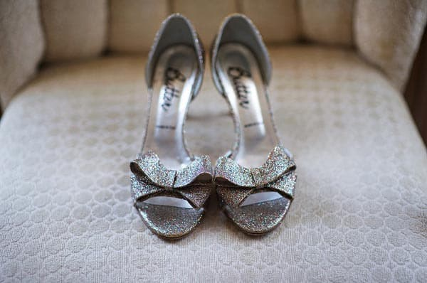 Butter Glitter Wedding Shoes