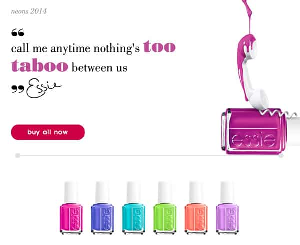 Essie 2014 Neon Collection