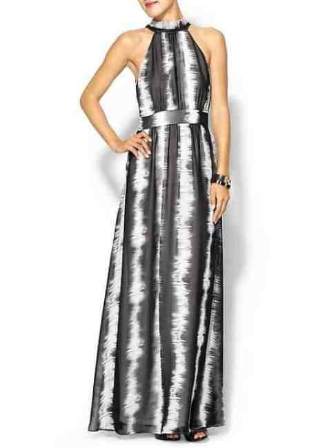 black and white maxi dress piperlime