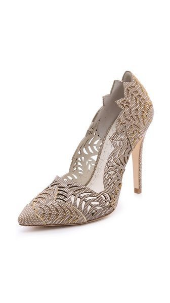 laser cut pumps