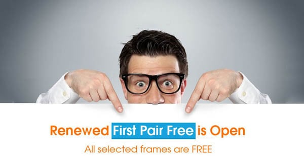 Free Glasses at Firmoo