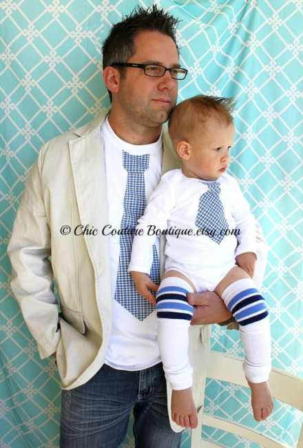 matching father and son outfit