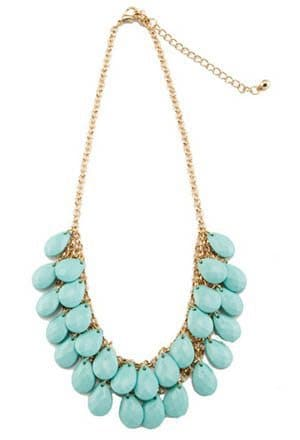 Teardrop Necklace from t+j Designs