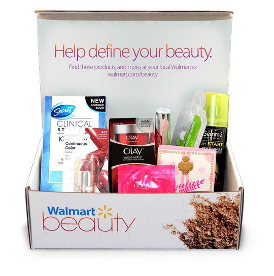 Walmart Fall Beauty Box