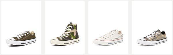 Converse Sale at Gilt