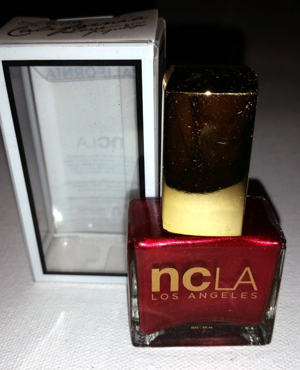 NCLA Lail Lacquer in Satin Sheets, Velvet Ropes