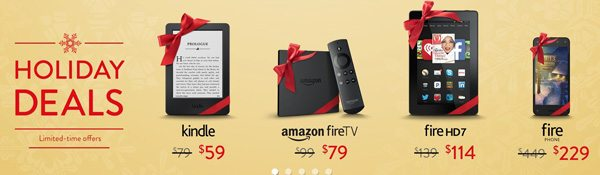 Amazon Fire and Kindle Sale