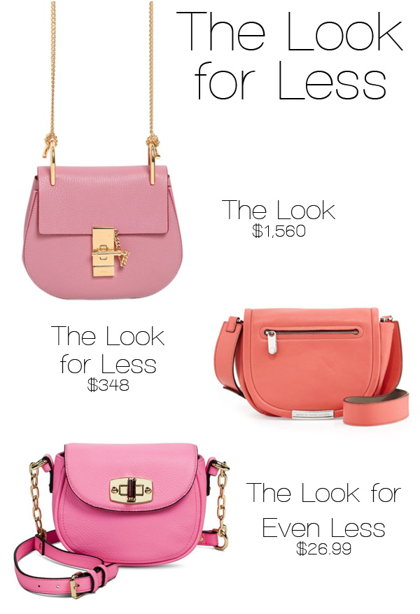 The Look for Less: Chloe Drew Bag