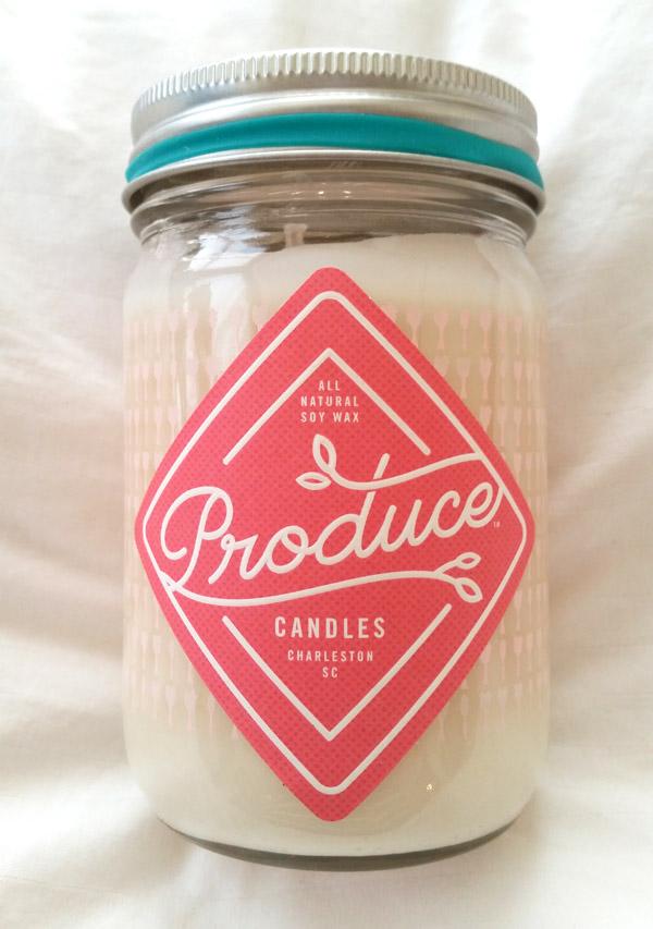 Produce Candle: Rhubarb