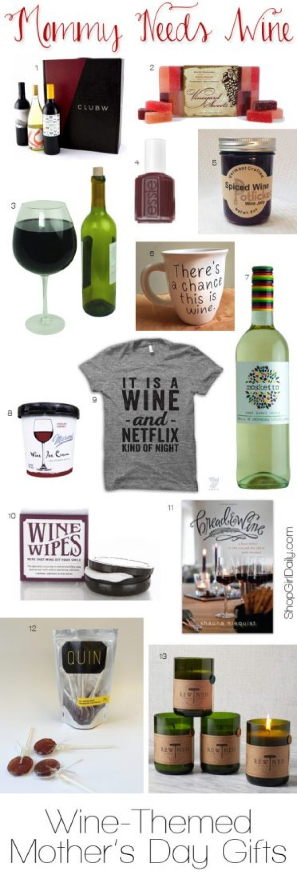 Wine-Themed Mother's Day Gifts
