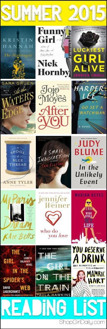 Summer 2015 Reading List