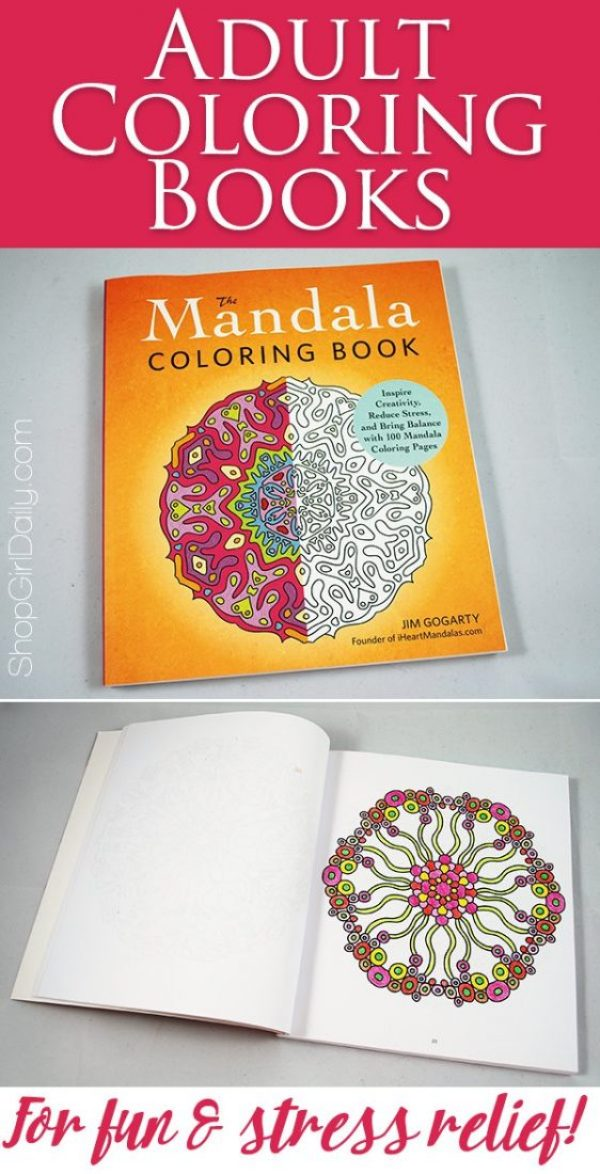Adult Coloring Books for Fun and Stress Relief | ShopGirlDaily.com