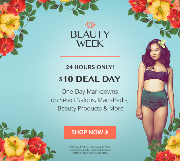 Groupon: $10 Beauty Day