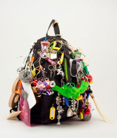 Backpack with Keychains