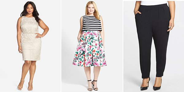 Plus Size Styles at the Nordstrom Rack Clear the Rack Sale
