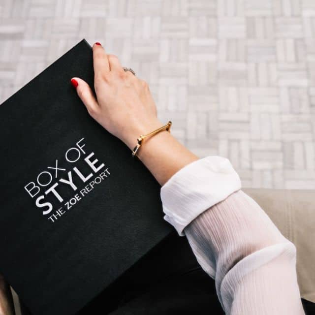 New Posh Subscription Box: Box of Style from The Zoe Report