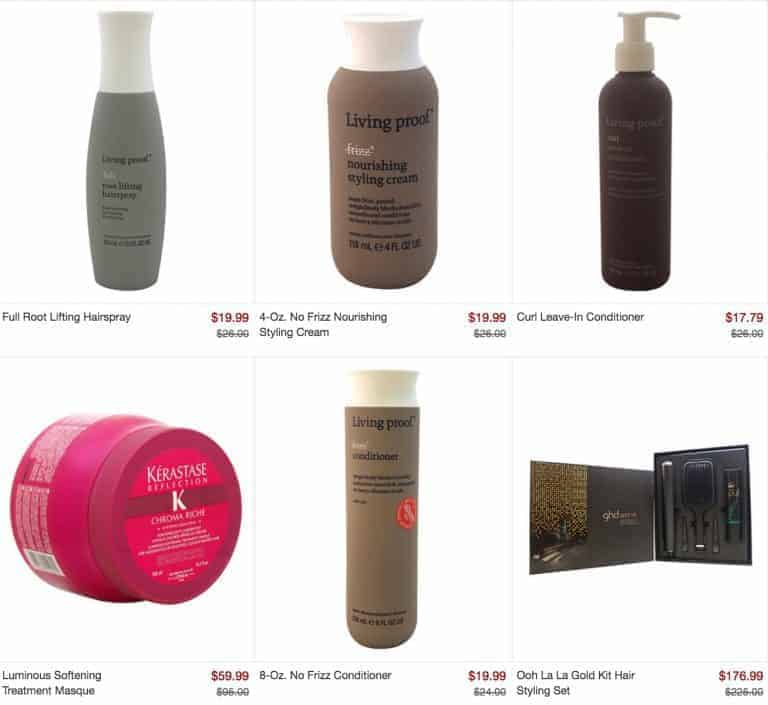 Living Proof, Kérastase & More on Sale at Zulily Today