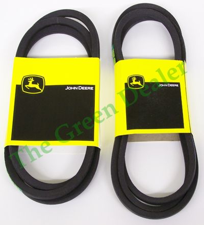 John Deere 46 Inch Deck Belt Set M47765 M41960