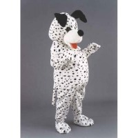 Dalmation Dog Costume Mascot Free Shipping
