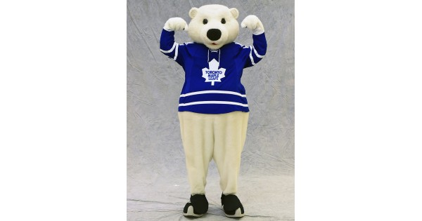 Toronto Maple Leafs Mascot Carlton The Bear