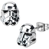 Star Wars Sterling Silver Stormtrooper 3d Stud Earrings ...