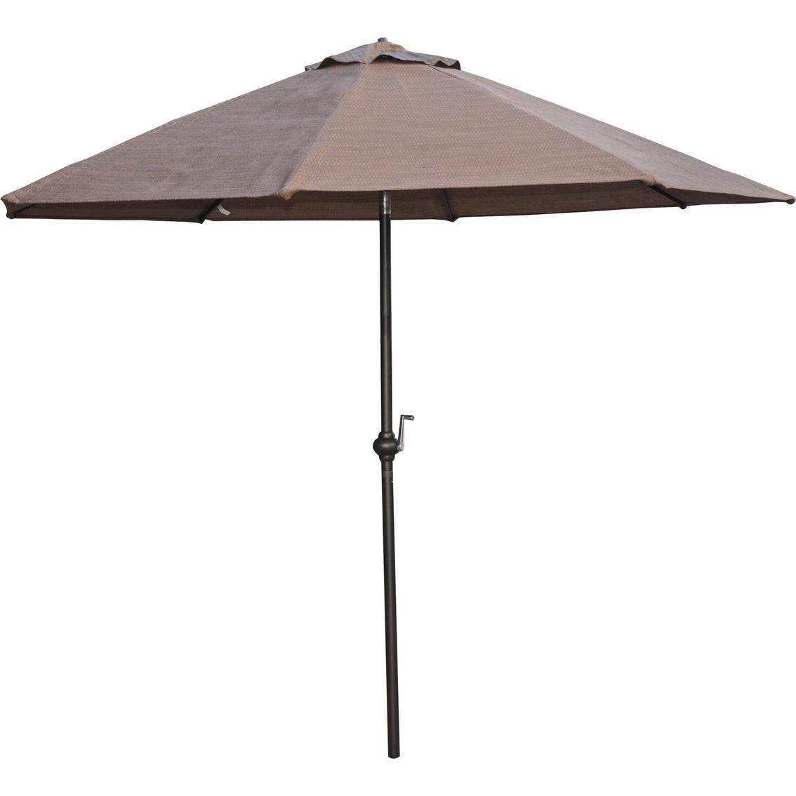 Patio Logic Garden Point 9 Ft Market Umbrella Table